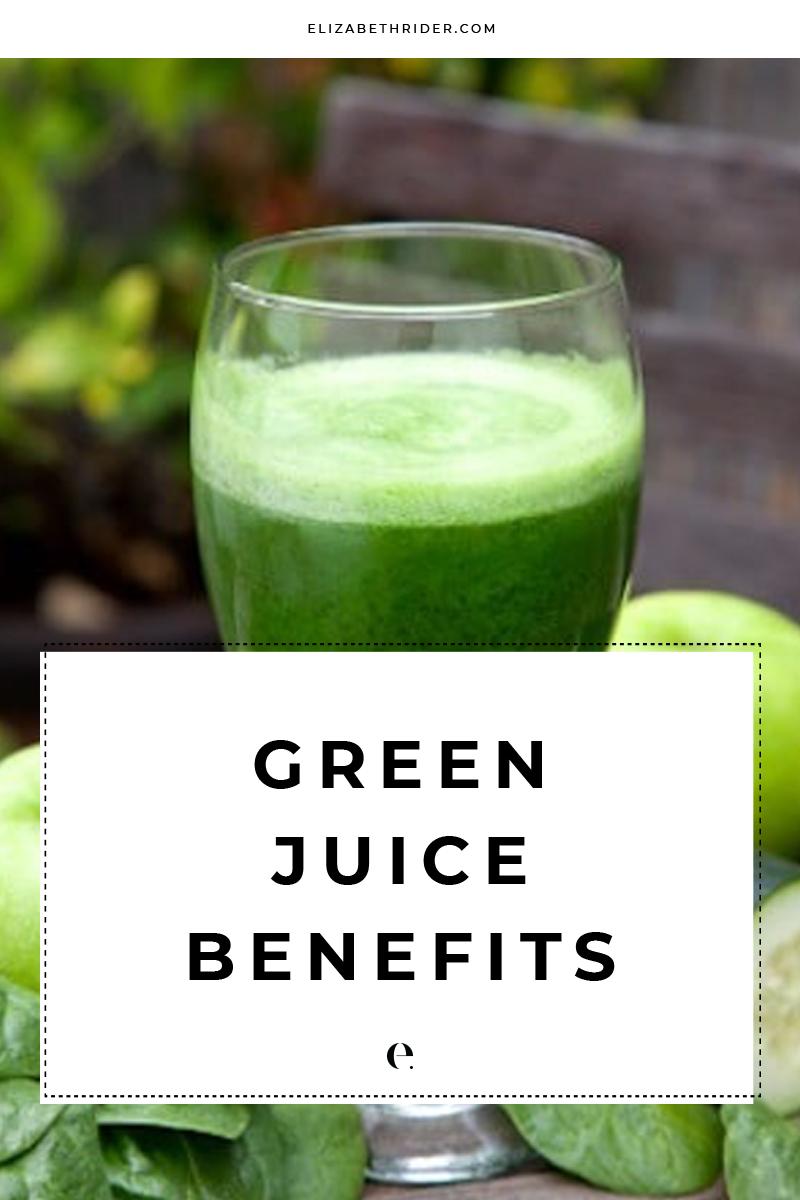 green juice benefits + my favorite green juice recipe