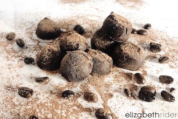 Vegan Chocolate Truffle Recipe Elizabeth Rider