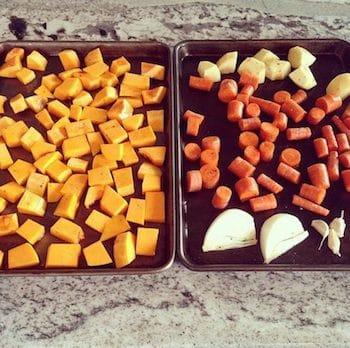 Butternut Squash & Carrot Curry Soup