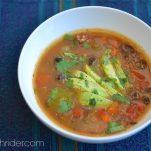 Detoxing Fiesta Soup Recipe Elizabeth Rider