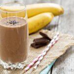 Chocolata banana smoothie