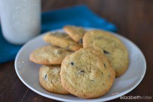 Gluten Free Chocolate Chip Cookie Recipe Elizabeth Rider