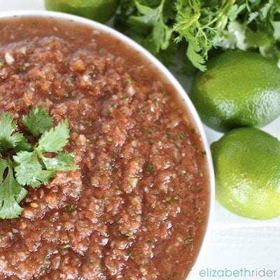 Fresh Homemade Healthy Salsa Elizabeth Rider