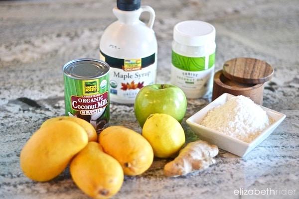 Raw Vegan Mango Pie Ingredients 2