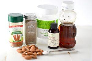 Healthy Cardamom Vanilla Almonds Elizabeth Rider
