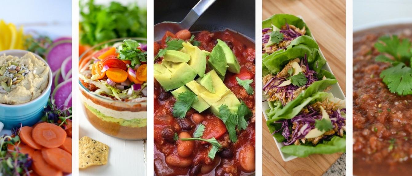 Healthy Super Bowl Snacks Menu Elizabeth Rider
