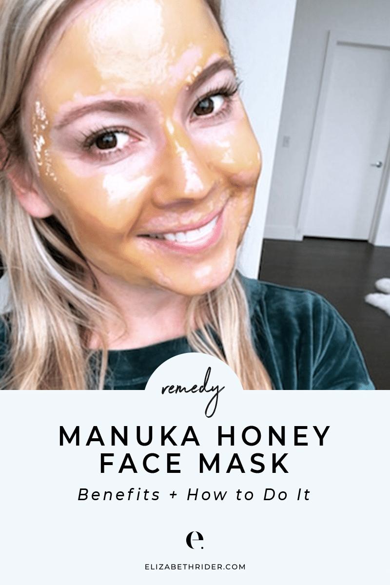ER-Health-Coach-Manuka Honey Face Mask -01