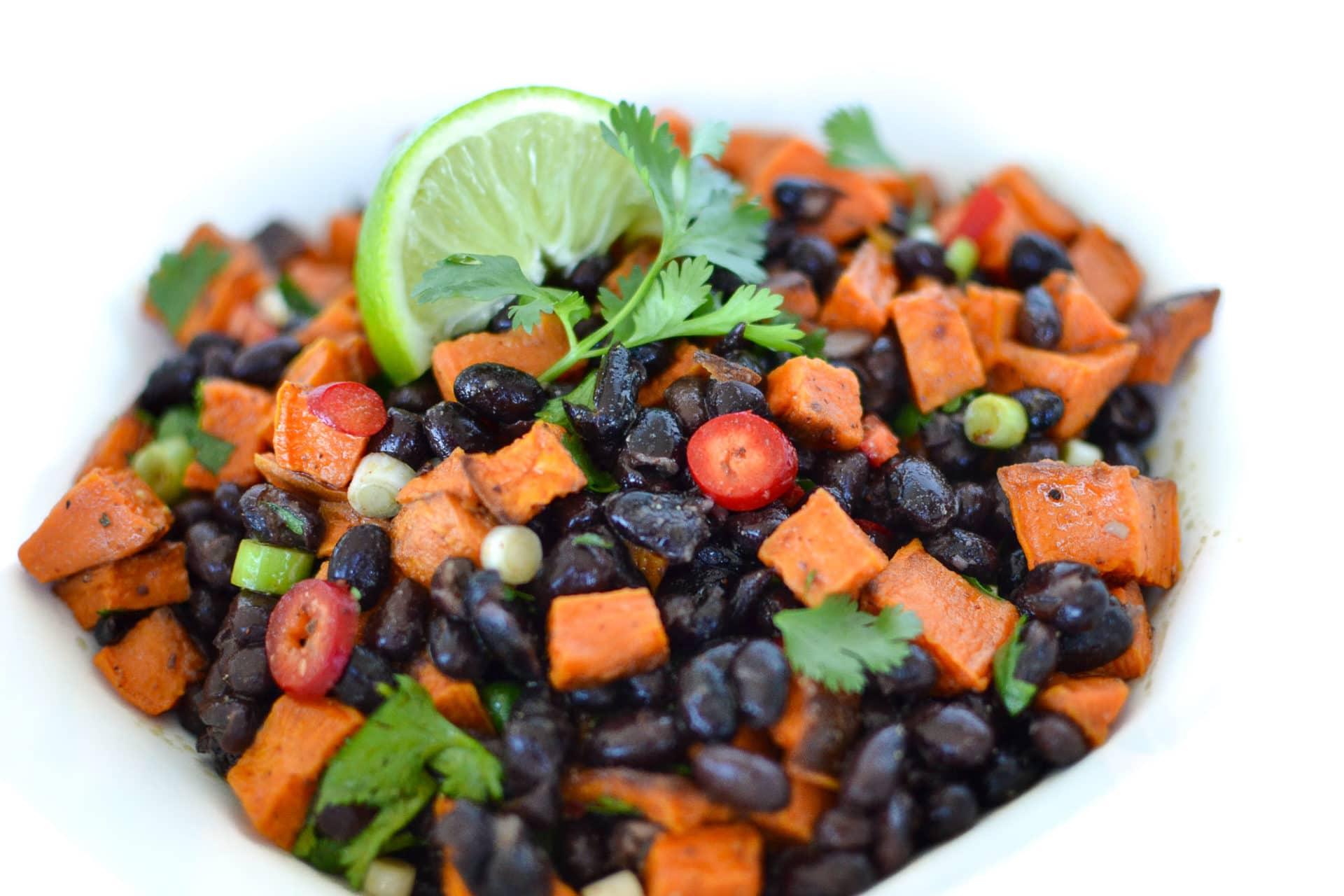 Black Bean & Sweet Potato Salad Elizabeth Rider-1