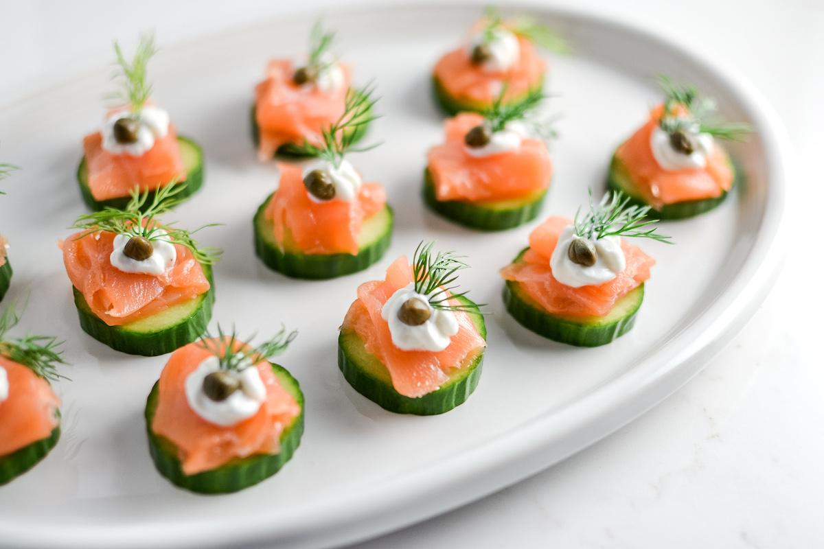 Elegant Healthy Smoked Salmon Appetizer Elizabeth Rider