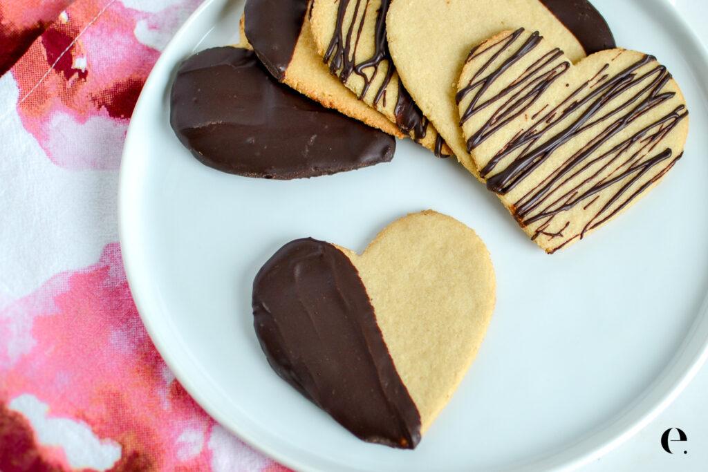 Healthy Shortbread Cookies Recipe (Gluten-Free) Elizabeth Rider