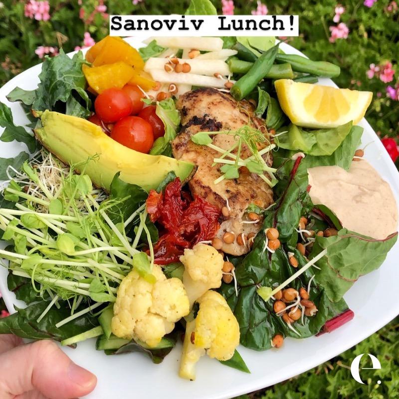Sanoviv Lunch Elizabeth Rider