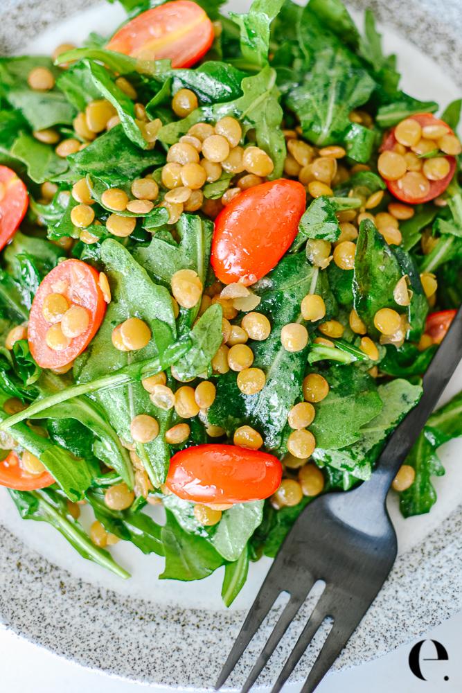 Apple Cider Lentil Salad Elizabeth Rider