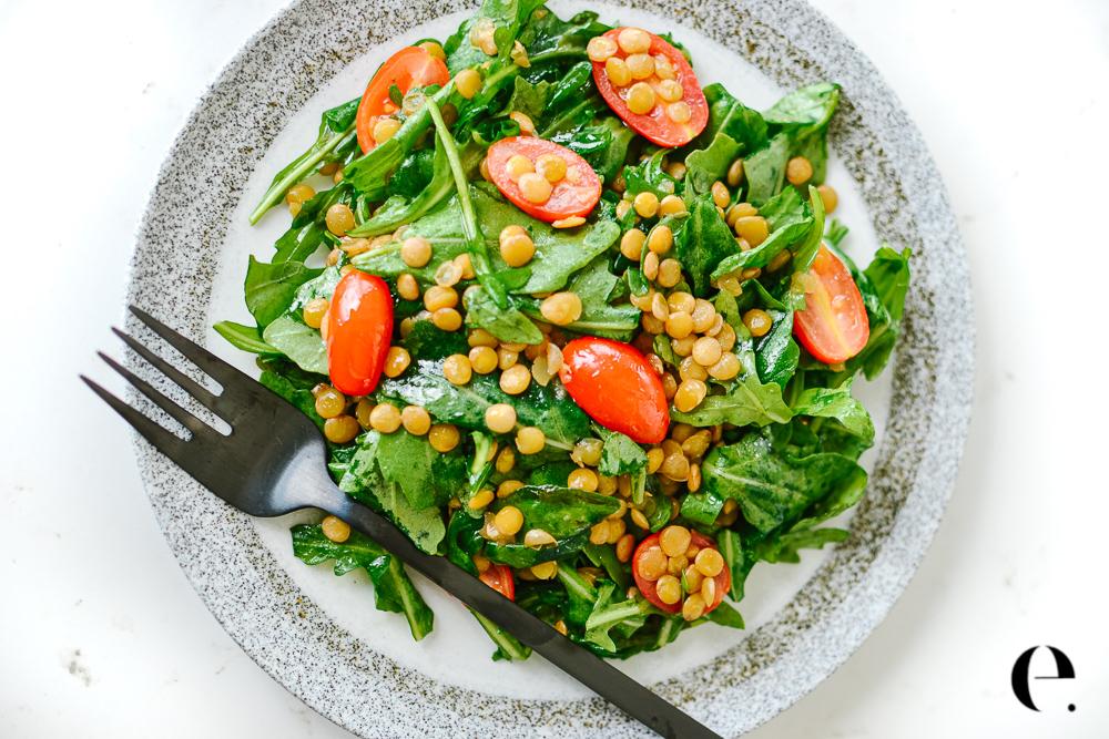 Apple Cider Lentil Salad Recipe Elizabeth Rider blog