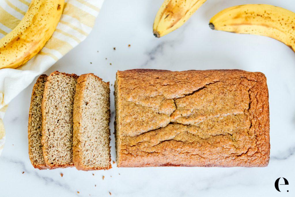 Healthy Banana Bread Almond Flour Elizabeth Rider