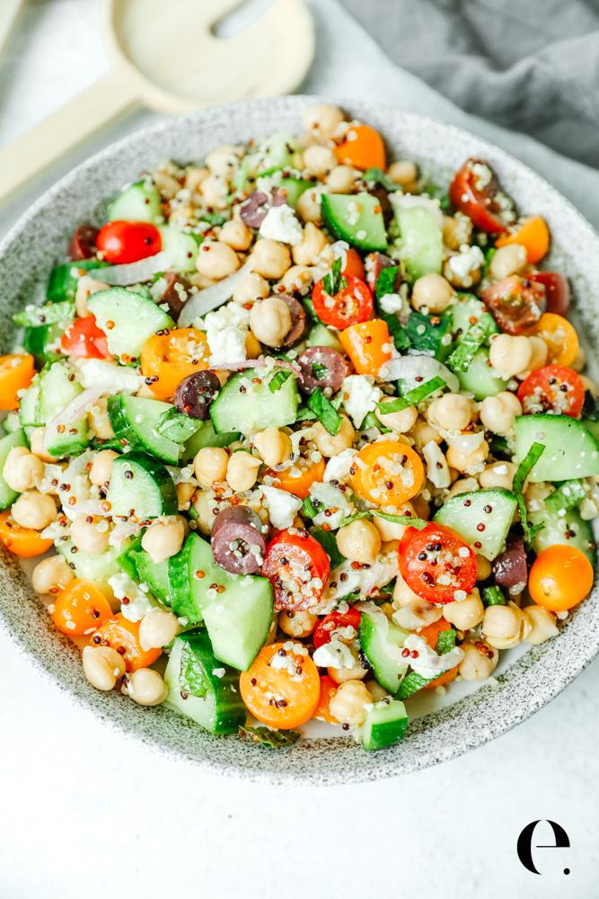 Mediterranean Chickpea Salad Elizabeth Rider-4
