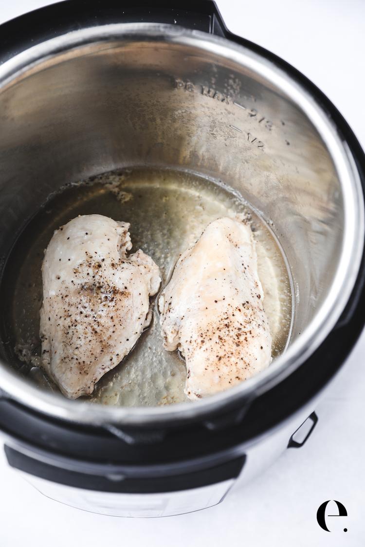 Cooked Chicken in Instant Pot Elizabeth Rider