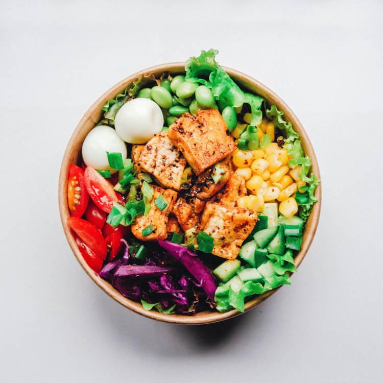 vegan protein tofu