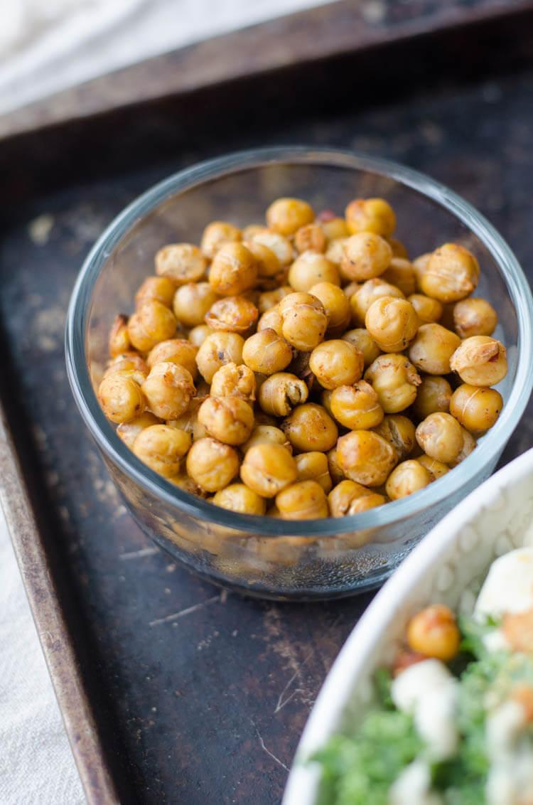 vegan protein chickpeas